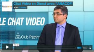 Chat Vidéo Actusite - Club Patrimoine du 12 Mars 2015